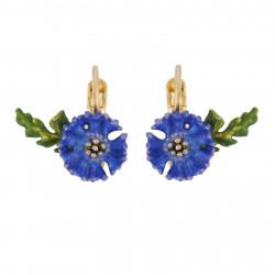 Cornflower Dormeuses Earrings