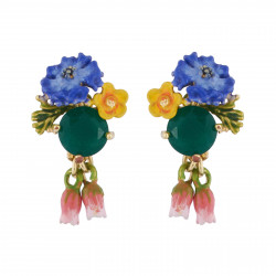 Earrings With Faceted...
