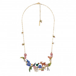 Couture Necklace With Fawn,...