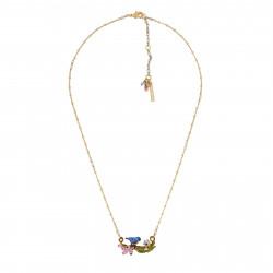 Necklace Chickadee On A...