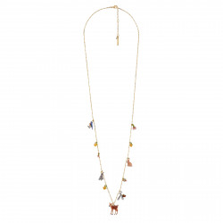 Lon Necklace With...