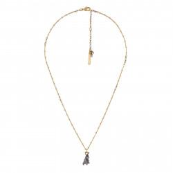 Grey Bunny Necklace