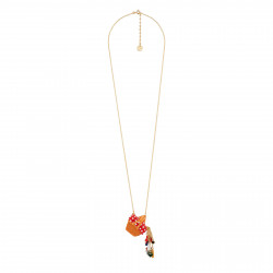 Long Necklace With Little...