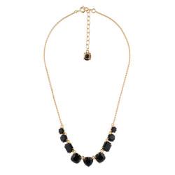 9 Black Stones Necklace