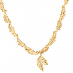 Ears Of Wheat Pendant Necklace