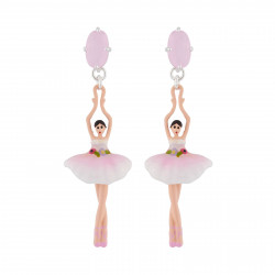 Pink And White Ballerina...