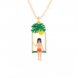 Mowgli On A Swing Pendant...