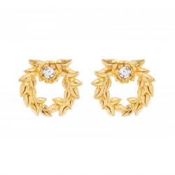 Crown Of Laurels Stud Earrings