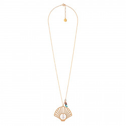 Long Necklace With Shell,...