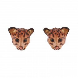 Wild Ocelot Stud Earrings