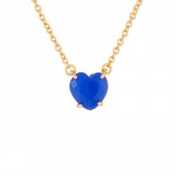 Royal Blue Heart Stone La...