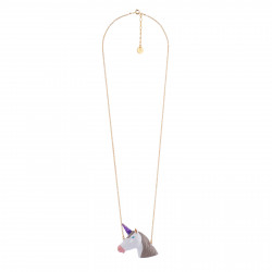Long Necklace With Unicorn...