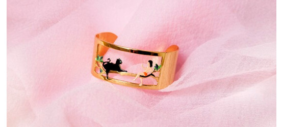 Mowgli And Bagheera Bangle...